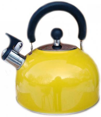 Чайник Катунь KT 105 J 2.5 л нержавеющая сталь жёлтый чайник катунь кт 106b 2 5 л нержавеющая сталь шоколад
