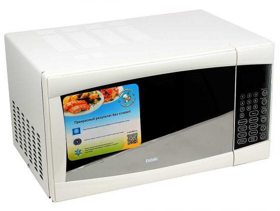 Микроволновая печь BBK 23MWS-915S/W 900 Вт белый микроволновая печь bbk 23mws 927m w 900 вт белый