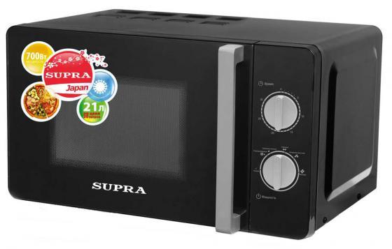 цена на Микроволновая печь Supra MWS-2103MB 700 Вт чёрный