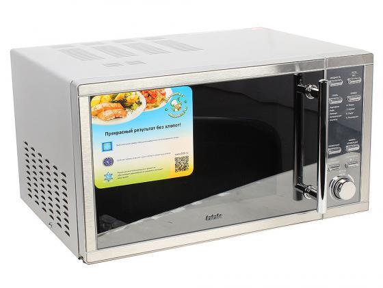 Микроволновая печь BBK 25MWC-990T/S-M 900 Вт серебристый микроволновая печь bbk 23mws 927m w 900 вт белый
