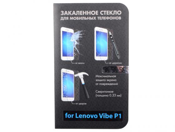 Защитное стекло DF для Lenovo Vibe P1 DF LSteel-33 protect защитная пленка для lenovo vibe c2 k10a40 матовая
