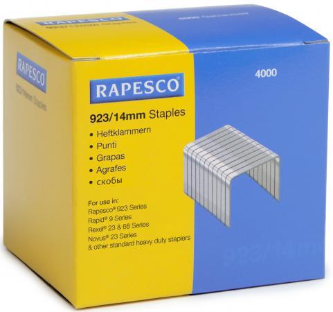 Скобы Rapesco 23/14 4*1000шт S92314Z3 rapesco office scissors sc0265s1 10 250