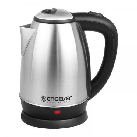 Чайник ENDEVER KR-229S 1800 Вт 1.8 л нержавеющая сталь серебристый чёрный сотовый телефон bq 1807 step black