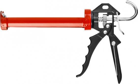 Пистолет для герметика Зубр Эксперт полуоткрытый 06635 пистолет для герметика зубр эксперт 06631