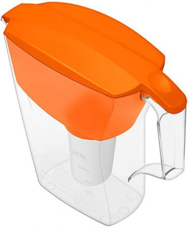 Фильтр для воды Аквафор АРТ кувшин оранжевый цена и фото