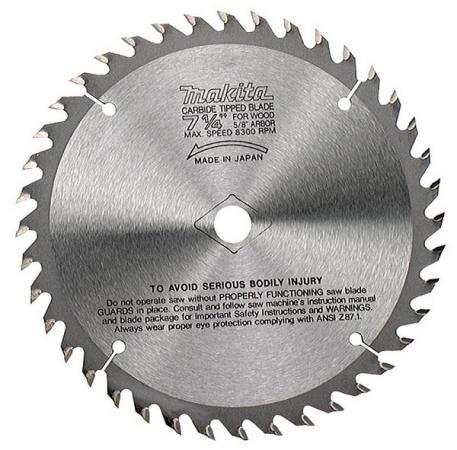 Пильный диск Makita 15.88х2.3мм 60зуб по дереву B-29284 диск пильный makita b 29284 standard