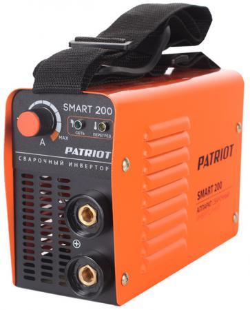 Аппарат сварочный Patriot SMART 200 MMA инверторный сварочный инвертор patriot smart 200 mma