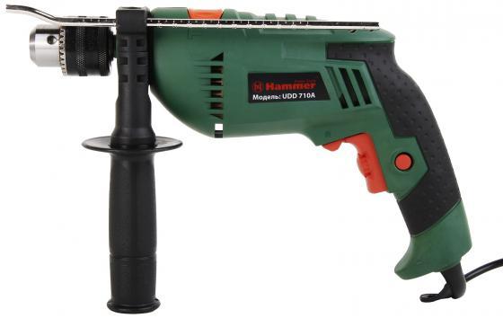 цена на Ударная дрель Hammer UDD710A 710Вт