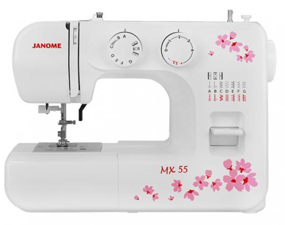 Швейная машина Janome MX 55 белый недорго, оригинальная цена