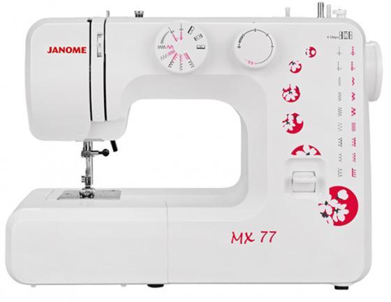 Швейная машина Janome MX 77 белый швейная машина janome vs 54s белый