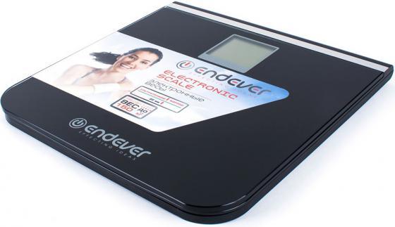Весы напольные ENDEVER Skyline FS-540 чёрный цена и фото