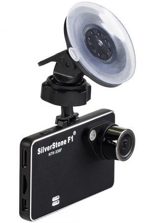 Видеорегистратор Silverstone F1 NTK-330 F 2.7 1920x1080 1.3Mp 140° microSD microSDHC датчик движения USB HDMI черный видеорегистратор mystery mdr 840hd 1 5 1920x1080 5mp 120° microsd microsdhc hdmi