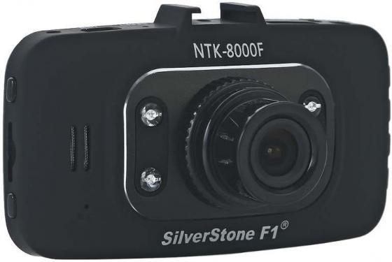 Видеорегистратор Silverstone F1 NTK-8000 F 2.7 1920x1080 1.3Mp 140° microSD microSDHC датчик движения USB HDMI черный