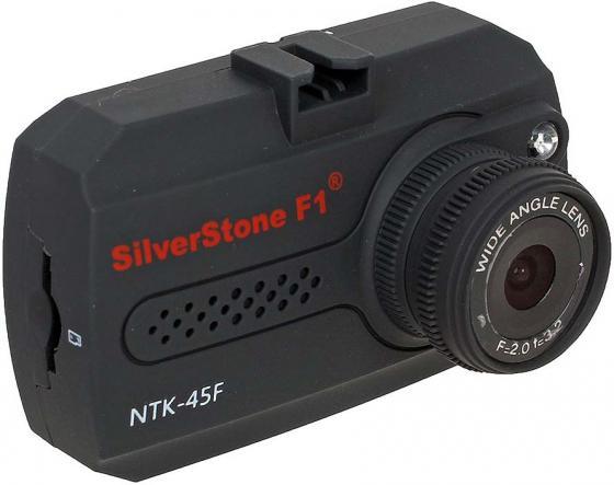 Видеорегистратор Silverstone F1 NTK-45 F 1.5 1920x1080 1.3Mp 140° microSD microSDHC датчик движения USB HDMI черный цена