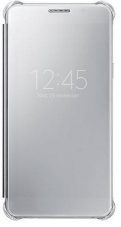 Чехол Samsung EF-ZA710CSEGRU для Samsung Galaxy A7 Clear View Cover серый samsung ef za710c clear view cover чехол для galaxy a7 2016 silver