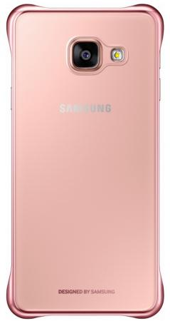 Чехол Samsung EF-QA710CZEGRU для Samsung Galaxy A7 Clear Cover A710 розовый чехол клип кейс samsung protective standing cover great для samsung galaxy note 8 темно синий [ef rn950cnegru]
