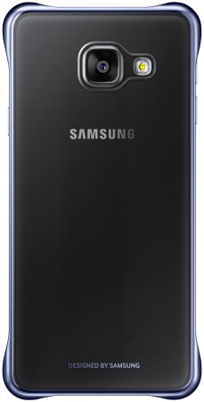 все цены на  Чехол Samsung EF-QA310CBEGRU для Samsung Galaxy A3 Clear Cover черный/прозрачный  онлайн