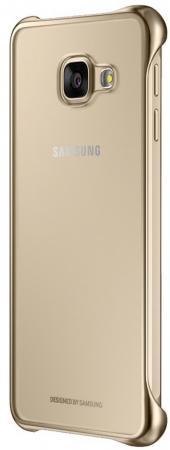 Чехол Samsung EF-QA710CFEGRU для Samsung Galaxy A7 Clear Cover A710 золотистый samsung ef qa710cfegru для galaxy a7 2016 clear cover gold