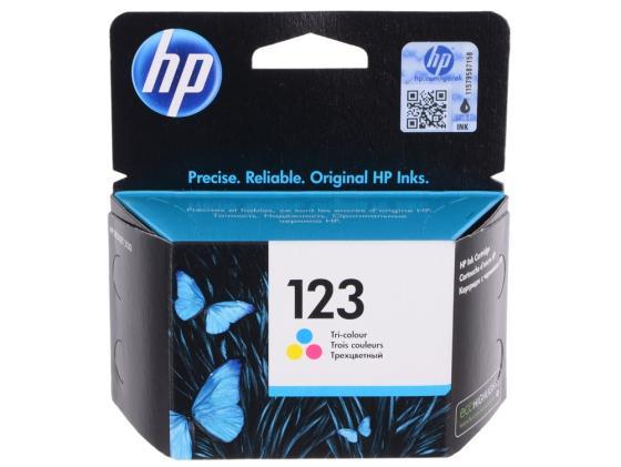 Картридж HP 123 F6V16AE для HP DJ 2130 100стр цветной