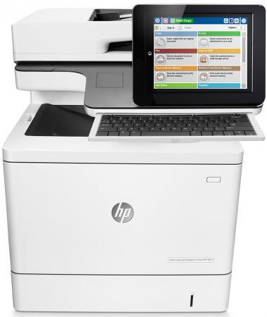 МФУ HP Color LaserJet Enterprise M577c B5L54A цветное A4 38ppm 1200x1200dpi Duplex Ethernet USB принтер hp color laserjet enterprise m652dn