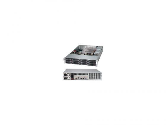 Серверный корпус 2U Supermicro CSE-826BE2C-R920LPB 920 Вт чёрный цена и фото