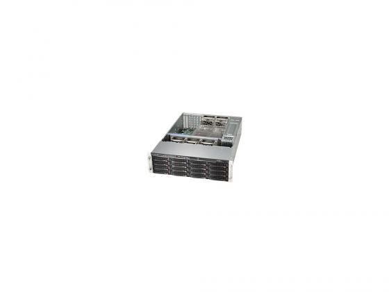 лучшая цена Серверный корпус 3U Supermicro CSE-836BE2C-R1K03B 2 x 920 Вт чёрный