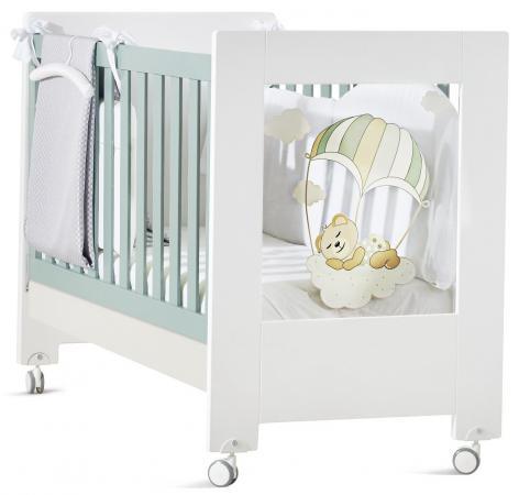 цены на Кроватка Feretti Fabienne et Mathieu (bianco/menta) в интернет-магазинах