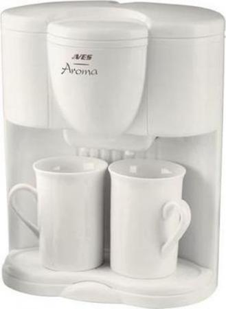 Кофеварка VES Electric V FS 5 600 Вт белый цена и фото