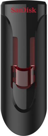 Фото - Флешка USB 128Gb SanDisk Glide SDCZ600-128G-G35 черный/красный флешка sandisk cruzer glide 128gb черный красный