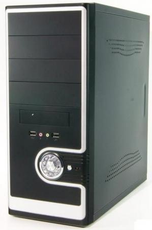 Корпус ATX Super Power Winard 3029 C 600 Вт чёрный серебристый корпус atx super power qm105 a11 700 вт чёрный серый