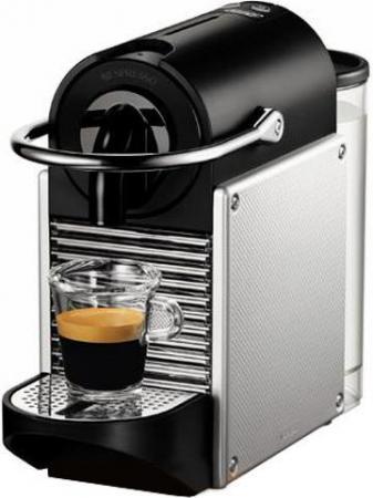 Кофемашина DeLonghi EN 125 S 1260 Вт серебристый