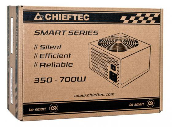 Фото - Блок питания ATX 400 Вт Chieftec GPS-400A8 блок питания accord atx 1000w gold acc 1000w 80g 80 gold 24 8 4 4pin apfc 140mm fan 7xsata rtl