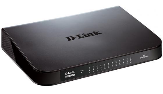 Коммутатор D-LINK DGS-1024A/B1A неуправляемый 24 порта 10/100/1000Mbps d link des 1024a
