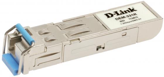 Трансивер сетевой D-Link DEM-331R/20KM/B2A 1 порт mini-GBIC 1000Base-LX трансивер hpe j4859c procurve gigabit lx lc mini gbic