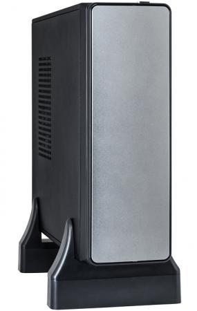 Корпус mini-ITX Exegate MI-213 300 Вт серебристый EX189199RUS корпус microatx exegate mi 205l 300 вт чёрный серебристый ex249478rus