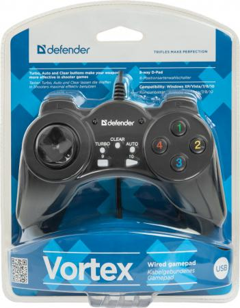 Геймпад Defender Vortex USB 64249 геймпад defender vortex