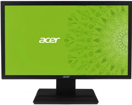 Монитор 24 Acer V246HLbid черный TN 1920x1080 250 cd/m^2 5 ms DVI VGA UM.HB6EE.018/UM.FV6EE.026 монитор 21 5 asus ve228tlb черный tft tn 1920x1080 250 cd m^2 5 ms dvi vga аудио usb