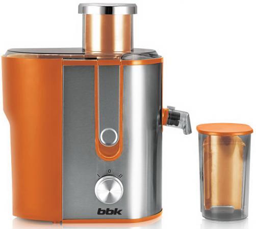 Соковыжималка BBK JC060-H02 600 Вт серебристо-оранжевый bbk jc060 h01 black red