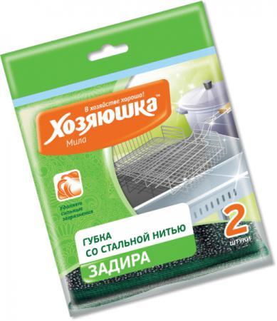 Губка для посуды Хозяюшка Мила Задира 01019 цена и фото