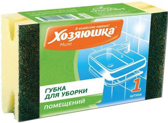 Губка для уборки Хозяюшка Мила Большая 01015 комплект сменных блоков к ролику хозяюшка мила 30 слоев 2 шт