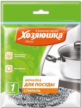 Мочалка для посуды спираль Хозяюшка Мила 02010 от Just.ru
