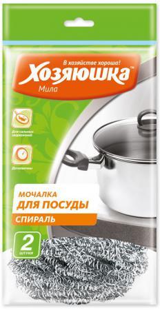 Мочалка для посуды спираль Хозяюшка Мила 02011 от Just.ru