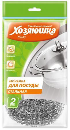 Мочалка для посуды Хозяюшка Мила 02013 рукав для запекания хозяюшка мила 09040