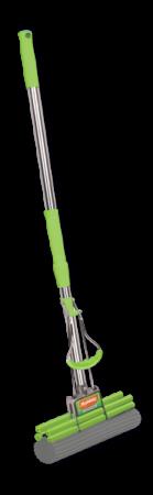 Швабра отжимная Хозяюшка Мила 10002 KF-02 швабра хозяюшка мила с телескопической ручкой и отжимом цвет в ассортименте kf 02