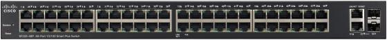 Коммутатор Cisco SB SF220-48P-K9-EU управляемый 48 портов 10/100/1000Mbps коммутатор cisco sf220 48 управляемый 48 портов 10 100mbps 2xsfp