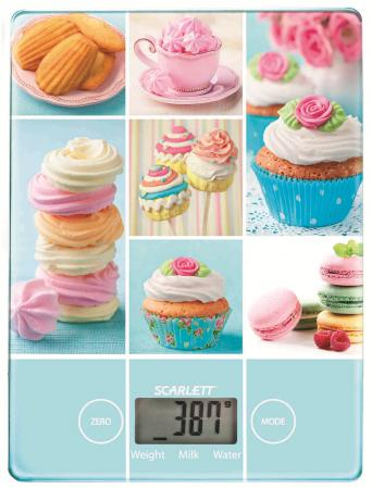 Весы кухонные Scarlett SC-KS57P05 рисунок