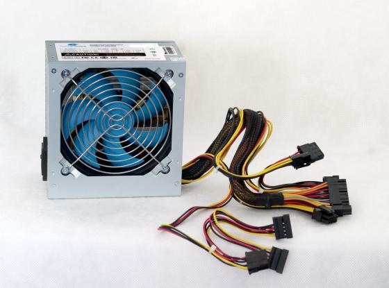 Блок питания ATX 500 Вт PowerCool PC500-120-O блок питания atx 450 вт powercool pc450 120 apfc 80p o