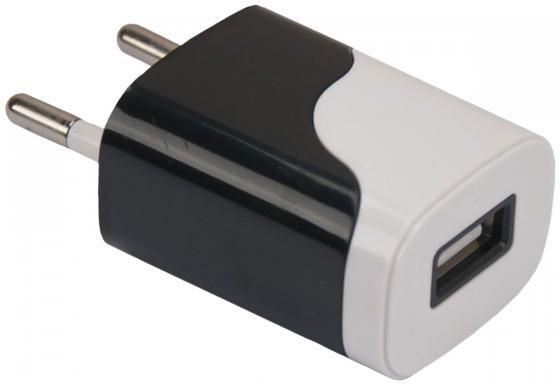 Сетевое зарядное устройство Continent ZN10-194BK 1A USB черный