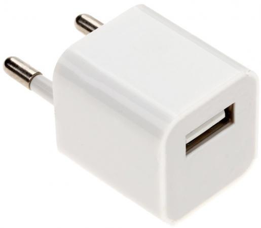 Сетевое зарядное устройство Continent ZN10-193WT 1A USB белый сетевое зарядное устройство continent zn10 194bk usb 1a черный
