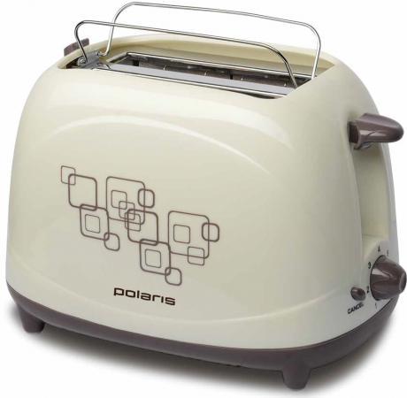 лучшая цена Тостер Polaris PET 0707 бежевый